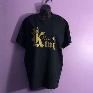 Boutique T-shirt for women shown in size large